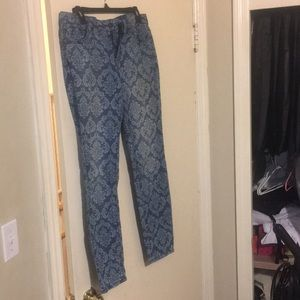 Forever 21 Patterned Jeans, US Women's 30